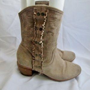 5b3bffb812af Nine West Shoes | Vintage Wavelenth Suede Boot | Poshmark